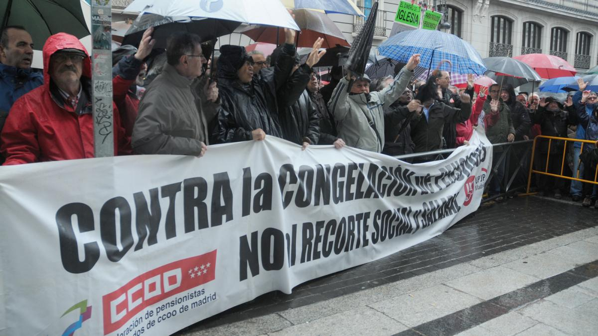 Miles de personas se han concentrado esta mañana en Madrid